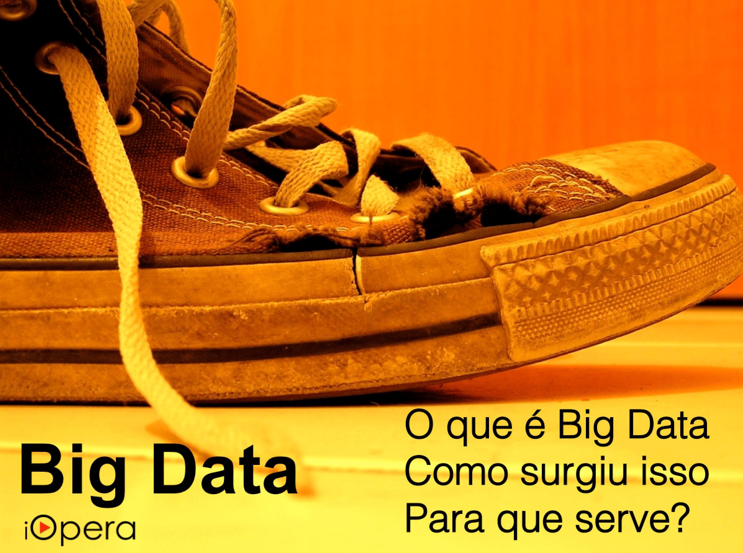 iOpera - o que é Big Data? Como surgiu isso? Para que serve?